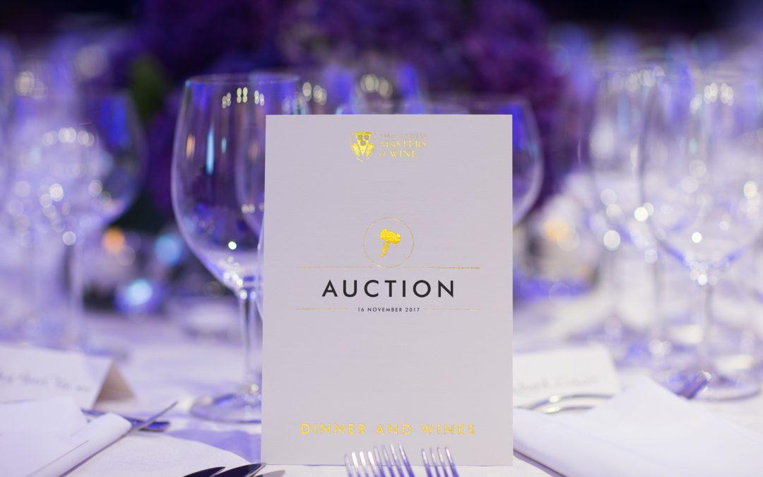 Masters of Wine Endowment Auction raises over £1.1m
