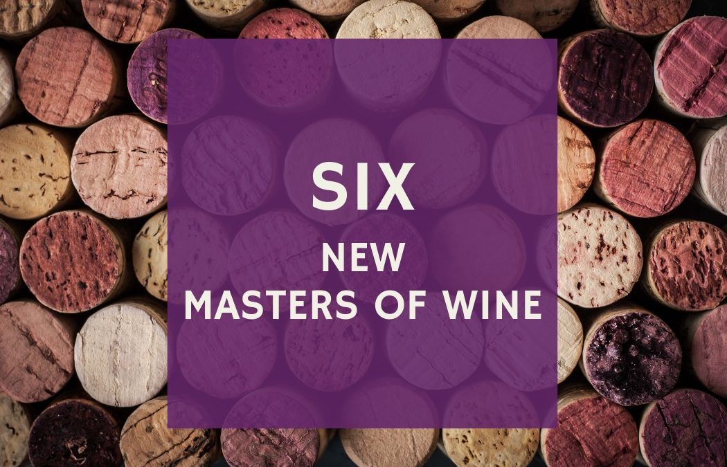 Six new Masters of Wine