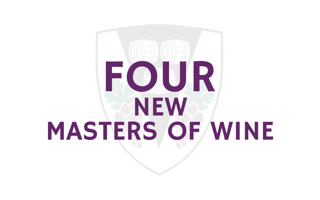 Four new Masters of Wine