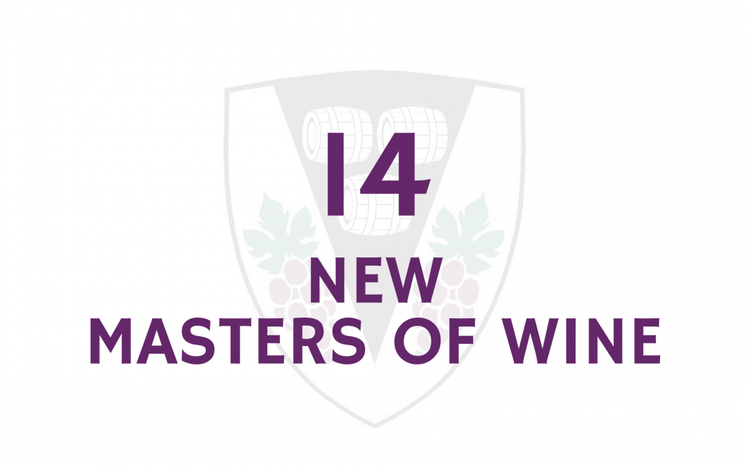 Fourteen new Masters of Wine