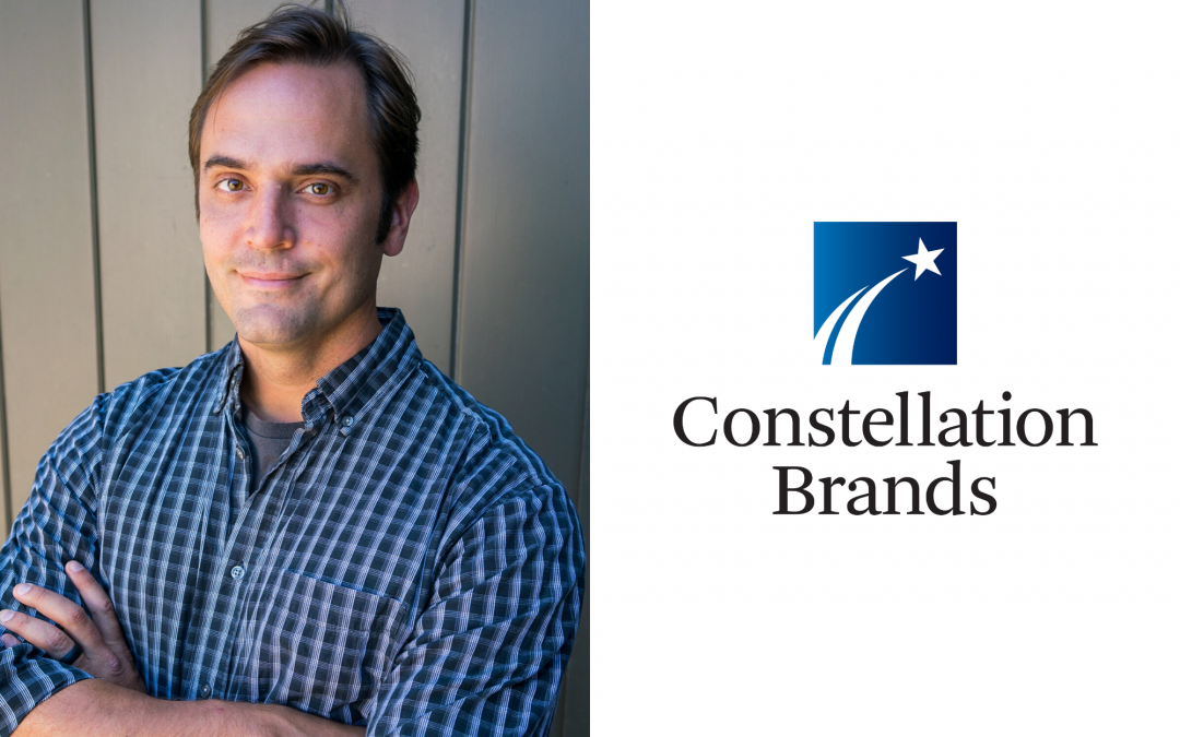 Constellation Brands awards stage 2 scholarship to MW student Robert Emery