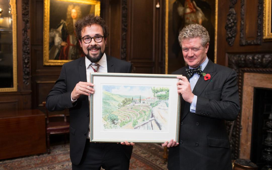 Fernando Mora MW wins the Institute of Masters of Wine Noval Award 2017