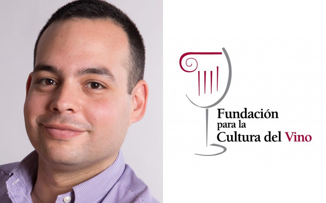 Jesús Enrique De las Heras Roger awarded the 2017 La Fundación para la Cultura del Vino Scholarship