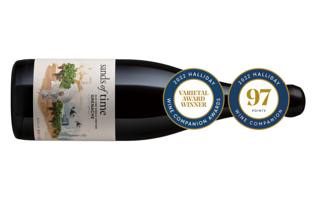 Giles Cooke MW and Fergal Tynan MW's Thistledown Winescollects award for best Grenache
